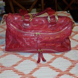 Treesje Red Leather Bag
